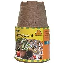 Jiffy 5444 Jiffy Peat Pots 4 in. / 6 pk (Case of 28)