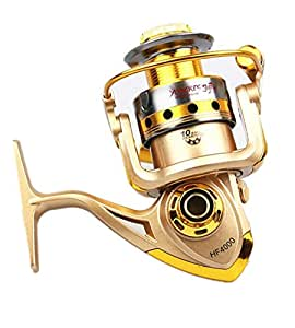 Spinning reel all metal body carbon fiber for Open face fishing reel
