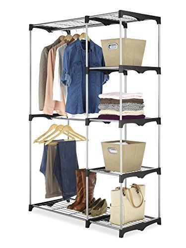 Whitmor Double Rod Freestanding Closet /