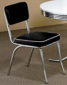 Retro Style Chairs Set of 4