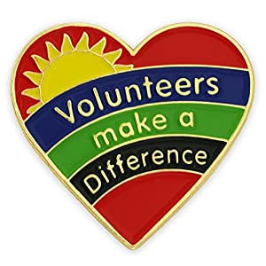Volunteers Make A Difference Pin