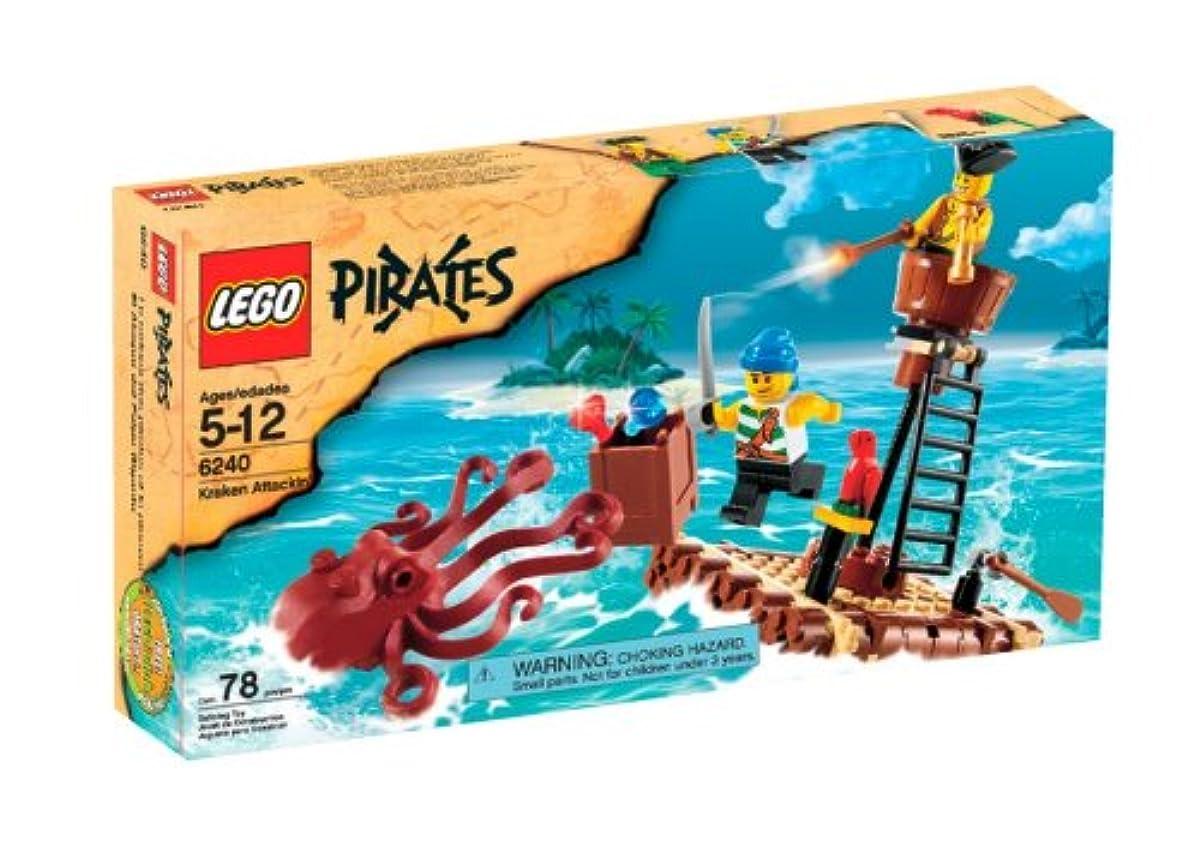 """[해외] 레고 파이럿 도깨비 다고""""구라켄""""의 습격 6240 LEGO PIRATE KRAKEN ATTACKIN'-6240"""