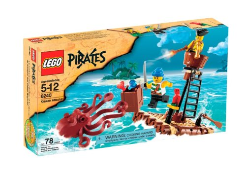 LEGO Pirates Kraken Attackin (6240) Amazon.com