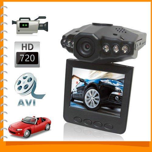 AutoStyle Sale! 720P HD Night Vision Mini Auto Car DVR Camera Video Recorder Vehicle Car Black Box + 2.5 Inch TFT Rotatable LCD Screen >> Color Name ** Black <<