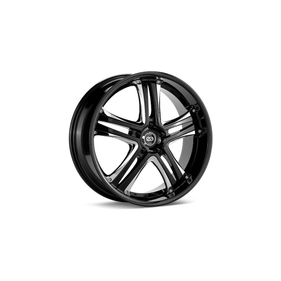 Enkei AKP (18 x 7.5, 5 x 114.3) 42mm Offset, Black, (1) Wheel/Rim