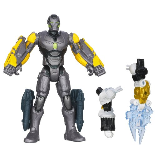 Marvel Iron Man 3 Assemblers Striker Iron Man Figure - 1