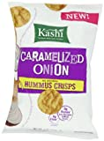 Kashi Hummus Crisps, Caramelized Onion, 4.0 Ounce