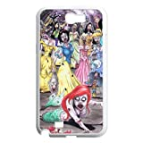 Zombie Little MermaidHard Plastic Back Cover Case for Samsung Galaxy Note 2 N7100