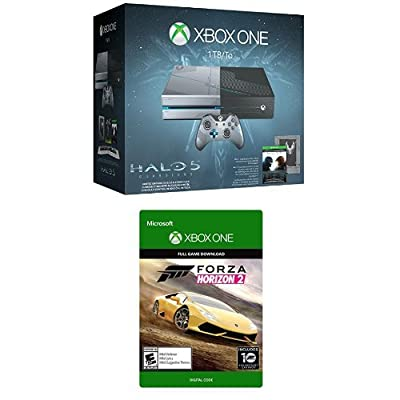 Xbox One 1TB Console - Halo 5: Guardians Limited Edition Bundle + Forza Horizon 2 [Digital Download Code]