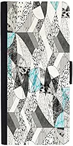 Snoogg Abstract Math Designer Protective Phone Flip Case Cover For Obi Worldphone Sf1