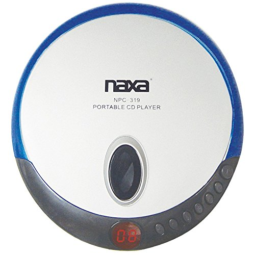 naxa-npc319blu-slim-personal-compact-disc-player-blue