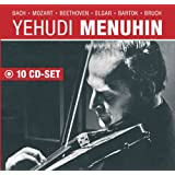 Yehudi Menuhin plays and conducts: Bach, Mozart, Beethoven, Brahms, Tchaikovsky, ...