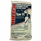Oreck Hypo-Allergenic CELOC Filter Bags Type CC for Uprights with Bag Docking Systems 8 pk.