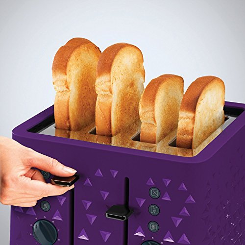 Morphy Richards 248107 Prism Toaster - Purple