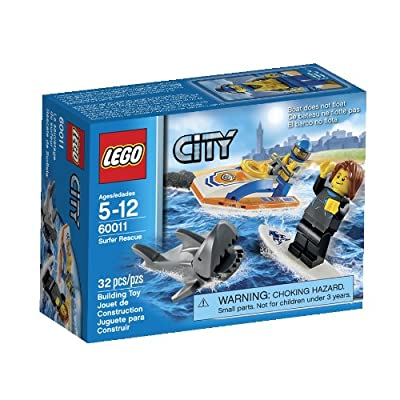 LEGO City 60011 Surfer Rescue Toy Building Set from LEGO City