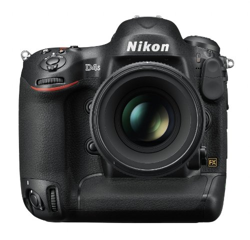Nikon D4S DSLR Camera, Body Only