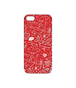 Vogueshell Valentines Day Pattern Printed Symmetry PRO Series Hard Back Case for Apple iPhone SE