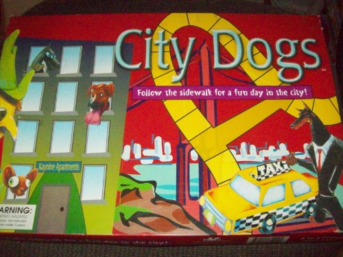 City Dogs Game- follow the sidewalk for a fun day in the city - 1