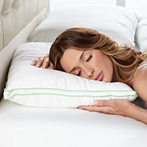 BioSense Slim-Profile Pillow for Stomach Sleepers