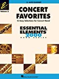img - for CONCERT FAVORITES VOLUME 2 ALTO CLARINET ESSENTIAL ELEMENTS 2000 BAND SERIES book / textbook / text book