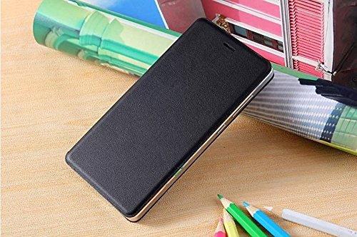Original Xiaomi MI4 Flip Case (Black)+ Free Clear Screen Guard
