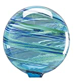 Ocean Mist Glowing Glass Gazing Globe