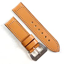 Pre-V by Mario Paci in Tan with Stainless Steel buckle with buckle 24/24 125/80