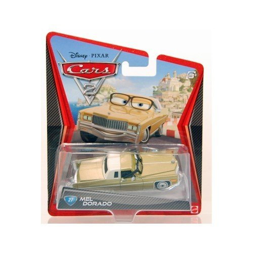 Disney / Pixar CARS 2 Movie 155 Die Cast #27 Car Mel Dorado - 1