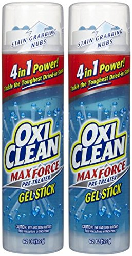 OxiClean Gel Sticks - 6.2 oz - 2 pk (Oxi Gel Stain compare prices)