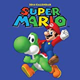 Super Mario Brothers 2014 Wall Calendar