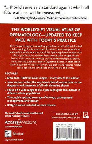 Fitzpatrick's color atlas & synopsis of clinical dermatology (Medicina)