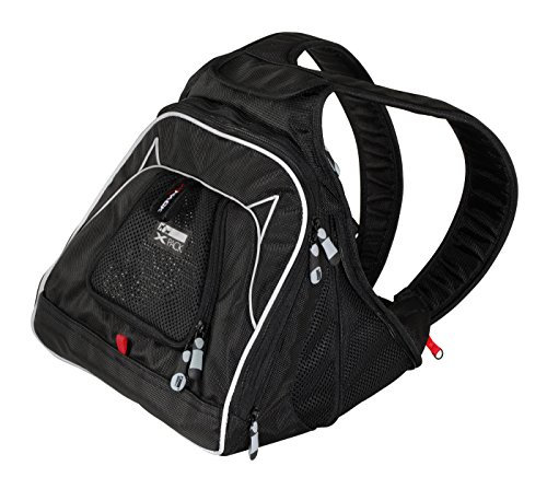 XPack Front Carrier Backpack Car Seat- Color=Black Label 12″x12″x12