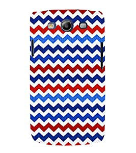 Wave Pattern Wallpaper 3D Hard Polycarbonate Designer Back Case Cover for Samsung Galaxy S3 :: Samsung Galaxy S3 i9300