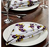 @home by Nilkamal 16'x16' Royal Legacy Table Napkin, Multi