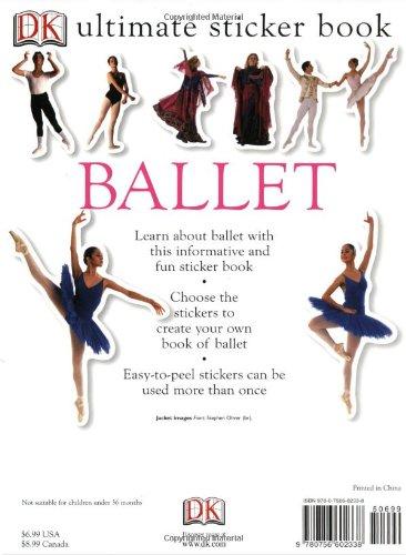 Ultimate Sticker Book: Ballet (Ultimate Sticker Books)