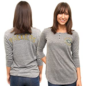 Buy NFL Chicago Bears Half Time Henley Tee by Junk Food