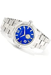 Renato Beast Diamond Stainless Steel Watch Blue Dial