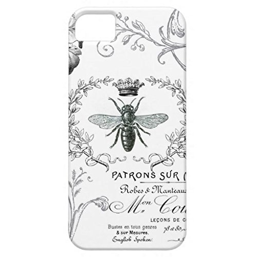 Phone covers for Iphone 6 Case, Vintage French Queen Bee Phone Case There Phone Case for Iphone 6 (4.7-Inch) (Queen Bee Electronic compare prices)