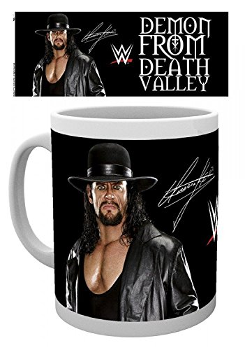 Wrestling - WWE, Undertaker Demon From Death Valley Tazza Da Caffè Mug (9 x 8cm)