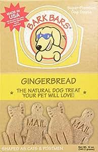 Bark Bars Gingerbread Pet Treat, 12-Ounce