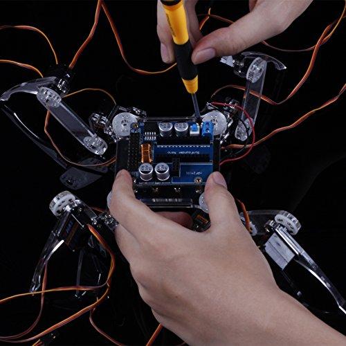Sunfounder Remote Control Crawling Robotics Model Diy Kit