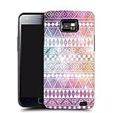 New Vintage Aztec Design Case Samsung Galaxy S2 i9100 - Pastel