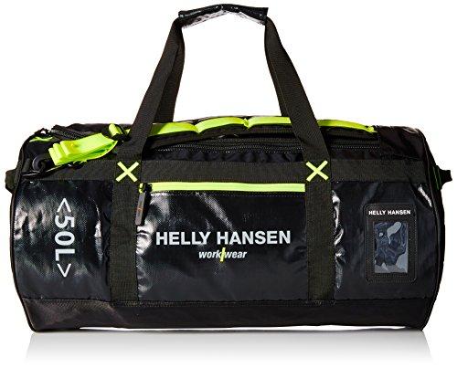 Helly Hansen Workwear, 79563, Duffle Bag Borsa 50L Duffel Offshore e zaino per lavoro e tempo libero, rapporto STD bianco Taglia unica, multicolore