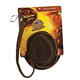 Indiana Jones Adult Hat &amp; Whip Set