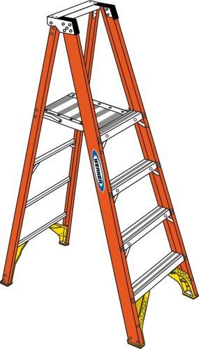 werner p6204 platform ladder