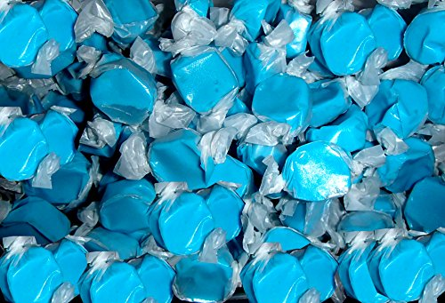 Salt Water Taffy Cotton Candy Flavored 1 Pound (16 Oz) (Blue Salt Water Taffy 1lb compare prices)