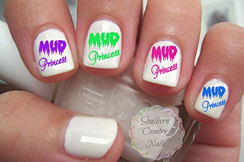 Mud Princess Nail Art Decals (Southern Princess Decal compare prices)