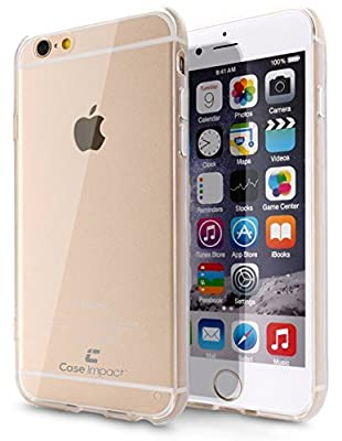 iPhone 6 Plus Case, Case Impact [Crystal Clear] [Scratch Proof] [Shock Absorbing] Bumper for iPhone 6 Plus (5.5) - [Ultra Thin] Case for Your Phone, [Non Slip] & [Perfect Fit] from Case Impact
