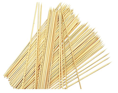Times - Brochette Barbecue - Bambou - 300 Piques à Brochette - 25 cm