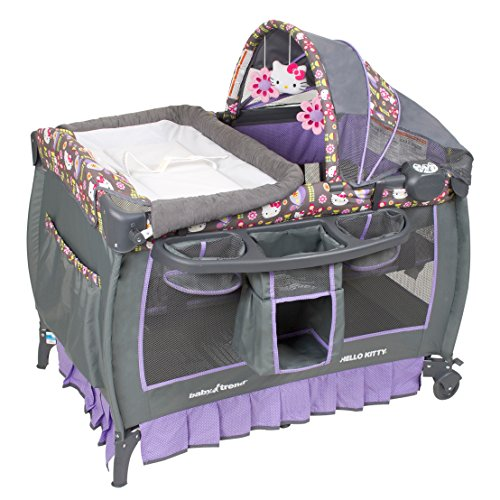 Baby Trend Deluxe Nursery Center, Hello Kitty Flower Dance - 1